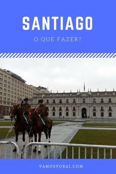 Que tal fazer um roteiro a pé pelos principais pontos turísticos de Santiago? Comece pelo Cerro Santa Lucía, passe pelo  Palácio La Moneda e em muitos outros lugares. Confira aqui.