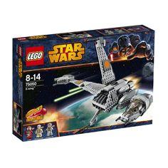 Lego Star Wars - B-Wing;  Recrea las escenas épicas del Retorno del Jedi y otras batallas espaciales emocionantes con el B-Wing. Gira la cabina para que el piloto siempre tenga una visión clara por delante. Pisa el acelerador de los 4 grandes motores y escapa de los ataques de las naves imperiales... En  http://www.opirata.com/lego-star-wars-bwing-p-26554.html