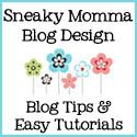 Blog tips by category: Backgrounds, Buttons, Followers/Readers, Headers, Links, Navigation Bars, Overall Design/Template Customization, Photos/Images, Posts, Promote Your Blog, Protect Your Blog, Sidebars/Gadgets, Coll Stuff/Miscellany