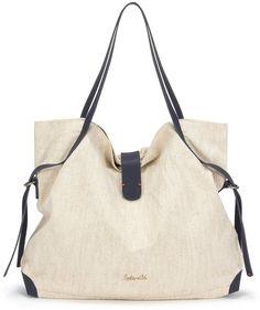 Beige Canvas Tote Bag by Splendid. Buy for $138 from Splendid