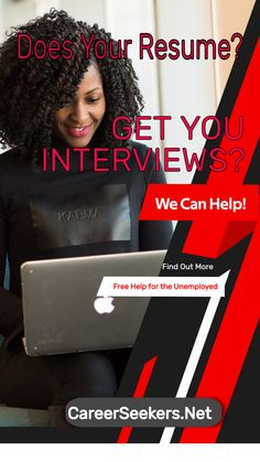 Many people get frustrated that they aren't landing interviews with the companies that they want to work for. If you've been out of work for a long time, it can be especially frustrating. Is your resume getting you interviews? We can help! I help the unemployed get back to work, so I know what it takes to get noticed. Take a look at our article on getting noticed! #resume #help #interviews #unemployed #Hiring #careerseekers Career Coach, New Career, Career Advice, Interview Techniques, Job Hunting Tips, Get Back To Work, Best Careers, What It Takes, Marketing Jobs