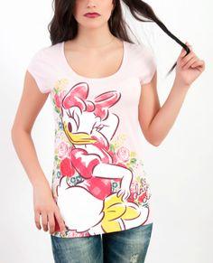 Daisy Duck  Casual  Fashion  T shirt