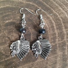 A personal favorite from my Etsy shop https://www.etsy.com/listing/527239493/chief-native-american-head-earrings