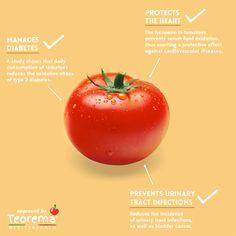 3 #benefits of #tomatoes - Artwork for #TeoremaMediterraneo