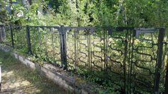 5 Zaunfelder + Pfosten / ca. 10 Meter / My Brutalist Fence Dream!!