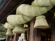 大注連縄   Shinto   Big straw festoon