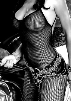 Black Fishnet
