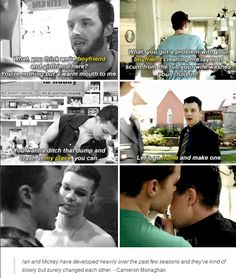 I pinned this because... Gallavich