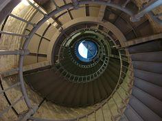 Stair case - Grays Harbor #Lighthouse - Westport, #WA  -  http://dennisharper.lnf.com/