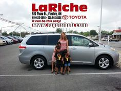 Congrats and Welcome to the Family, Jillian Rapp and the kiddos! We know you will your adore new 2013 #Toyota #Sienna.