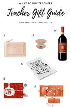 Gift guide for teach