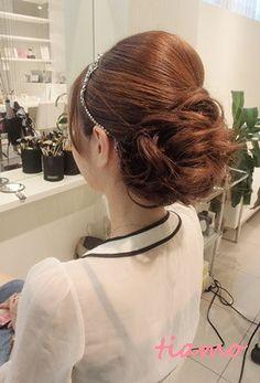 美人花嫁さまの3アップスタイルチェンジで素敵な一日♡ の画像|大人可愛いブライダルヘアメイク 『tiamo』 の結婚カタログ