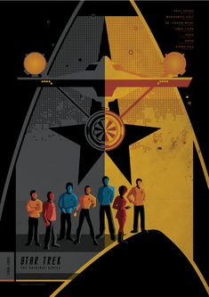 Very cool Star Trek poster!