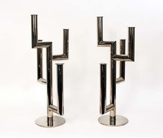 Pair of candlesticks by Hagenauer, circa 1930