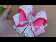 Diy Bow, Diy Ribbon, Ribbon Hair, Ribbon Bows, Kanzashi Tutorial, Hair Bow Tutorial, Baby Hair Bows, Boutique Hair Bows, Making Hair Bows