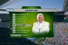 Papa Francisco - Argentina Mundial 2014