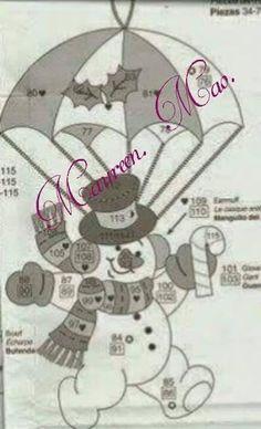 Bucilla Dropping In ~ 6 Pce. Felt Christmas Stockings, Beaded Christmas Ornaments, Felt Ornaments, Handmade Christmas, Christmas Crafts, Christmas Decorations, Christmas Stocking Template, Christmas Applique, Christmas Templates