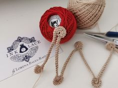 Romanian Point Lace  SNAIL CORD Tutorial- Instant Download