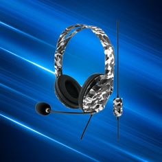Winter Camo, Stereo Speakers, Xbox One, Headset, Nintendo, Man Gifts, Audio, Ear