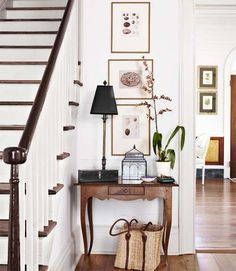 Never leave a buyer wondering how to use a space. This is a great use of an area many people struggle with showcasing