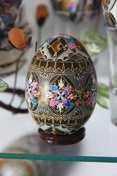 Romanian eggs from Egg Museum in Moldovita