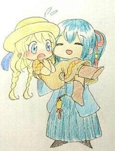 Yuzuki lifting Holly~