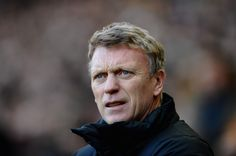 David Moyes of Manchester United looks on during the Barclays Premier League match between Hull City and Manchester United at KC Stadium on December 26, 2013 in Hull, England
