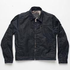 Freenote Cloth | RJ2 Jacket - Black | $400