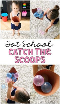 Tot School: Ice Cream Get moving with this catch the scoops gross motor activity. Perfect for an ice cream theme in tot school, preschool, or the kindergarten classroom. Ice Cream Games, Ice Cream Theme, Ice Cream Day, Cream Cream, Gross Motor Activities, Gross Motor Skills, Baby Activities, Therapy Activities, Physical Activities