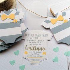 Invitaciones originales para bebé