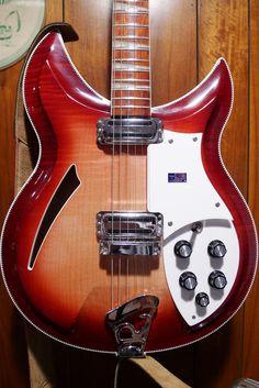 Rickenbacker Guitar, Film Music Books, Vintage Guitars, Electric Guitars, Cool Guitar, Playing Guitar, Anton, Iphone Wallpapers, Rock Art