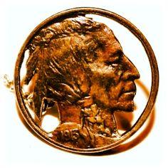 VINTAGE TIE TAC TACKS STUD 1913 INDIAN HEAD / BUFFALO NICKEL / FIVE CENTS COINS $34.99  http://item.mobileweb.ebay.com/viewitem?itemId=221210682399