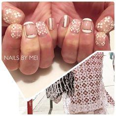 Nails by Mei — @stephaniekramer65 's New White  #NailsByMei...