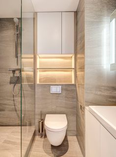 ideas bathroom closet redo showers for 2019 Small Bathroom Interior, Bathroom Design Luxury, Bathroom Layout, Modern Bathroom Design, Bathroom Styling, Minimalist Toilets, Minimalist Small Bathrooms, Tub To Shower Remodel, Small Toilet Room