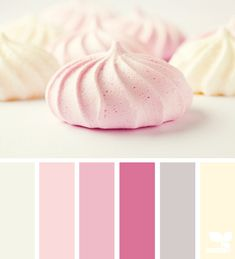 Soft and airy with color whipped  from Design Seeds® | for all who ❤ color