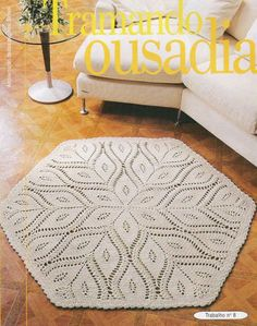 rug crochet pattern: | make handmade, crochet, craft.. #inspiration_crochet #knit #diy GB ...