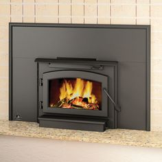 Timberwolf EPI22 Economizer EPA Wood Burning Insert | WoodlandDirect.com: Fireplace Inserts, Wood Stoves & Inserts
