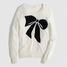 J.Crew Deals | Just bought this bow sweater from J. Crew! Was $88, Now $65, plus 30% off! - Cheryl