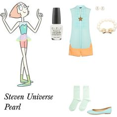 Steven Universe Pearl nice but no star necklace please