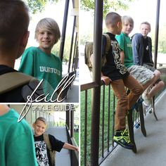 The 2014 Fall Style Guide, all the top trends, looks, and styles for fall! Looks for back to school and upcoming looks and trends for the cooler season! School Looks, Brand Names, Style Guides, Back To School, Autumn Fashion, Label, Boys, Baby Boys, Fall Fashion