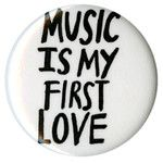 Music First Love Pin | Hot Topic
