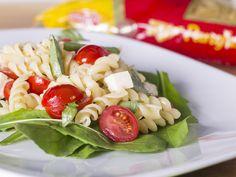 salada caprese com parafuso