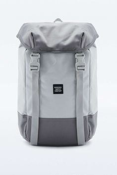Herschel Supply co. Iona White and Grey Utility Backpack