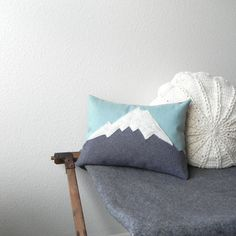 Create pillows for places Don and I visit. Simple minimal design. Iconic moments for us.