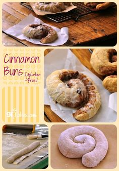 Gluten free cinnamon bun or cinnamon roll - whatever you call it ... it's delicious! Hard to resist soft, yeasty dough with sweet icing and raisins. Makes any breakfast better!
