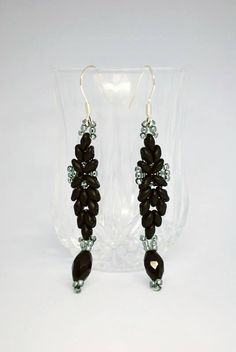 Earrings (Scheme updated). | Biser.info - all about beads and beaded works