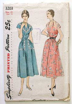 Simplicity 3203: great housedress