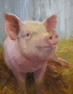 Thats Some Pig - Oil: Susan Plooughe