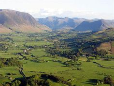 The Vale of Lorton outside Cockermouth. For me the Western Fells are the best part of the Lake District.