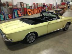 Chevrolet : Corvair Convertible 1964 Corvair Monza - http://www.legendaryfinds.com/chevrolet-corvair-convertible-1964-corvair-monza/